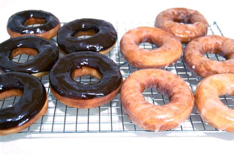 doughnuts krispy kreme style i made that