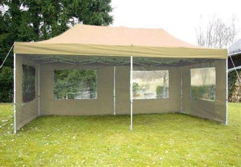 pavillon 3x6 meter nexos faltpavillon wasserdicht 3 215 6 wasserdichte