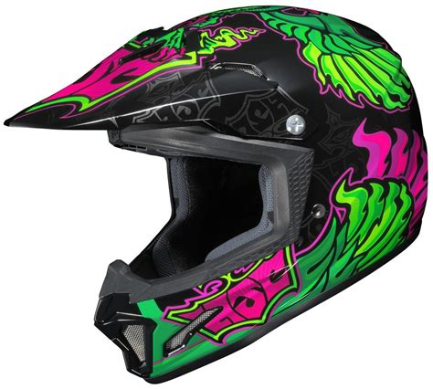 fly motocross helmets hjc youth cl xy 2 clxy ii eye fly motocross mx off road helmet
