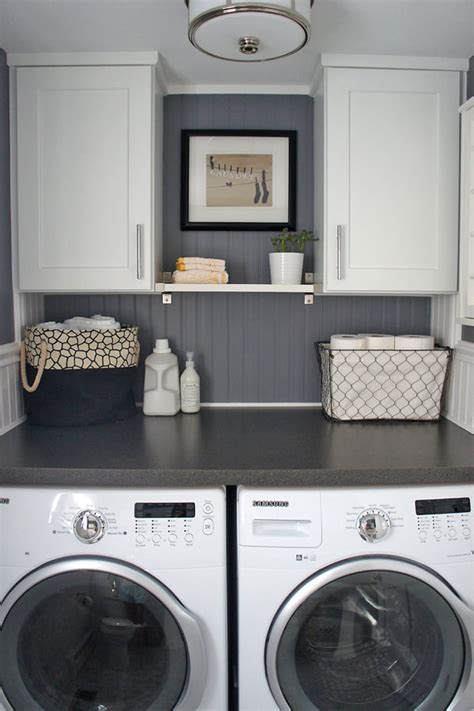 Small Laundry Closet Ideas by 10 Awesome Ideas For Tiny Laundry Spaces Decorating Your