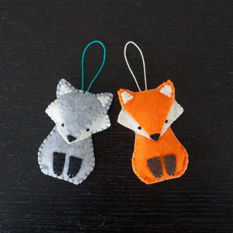 felt wolf pattern the 25 best ideas about felt fox on pinterest fox