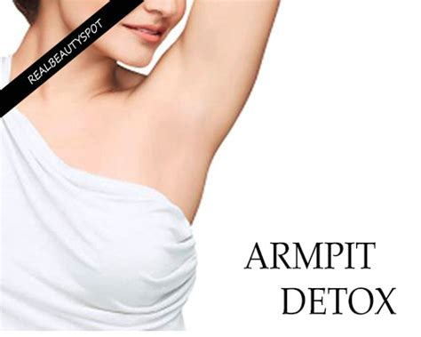 Sweat Detox by Armpit Cleanse Detox Your Armpits Naturally Theindianspot