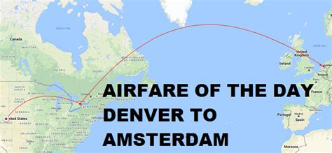 airfare   day air canadaunited airlines denver  amsterdam economy class