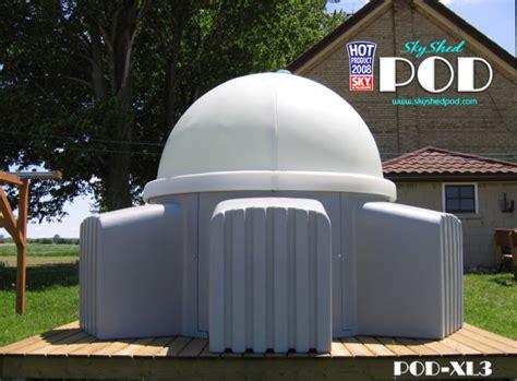 skyshed pod dome backyard observatory skyshed pod skypod