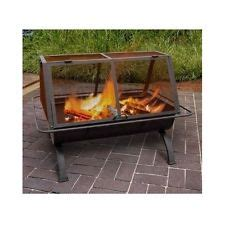 portable outdoor fireplace ebay