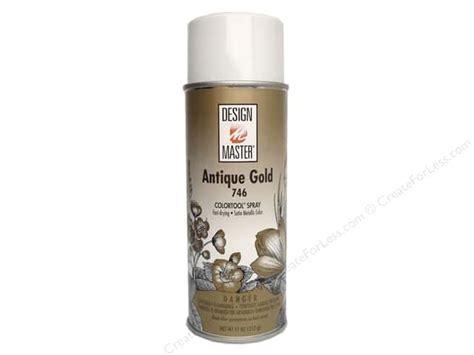 design master colortool spray paint antique gold 12 oz createforless