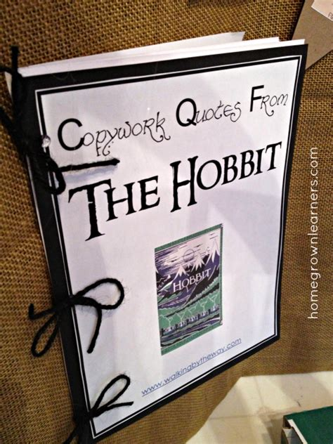 the hobbit book report the hobbit a unit study homegrown learners