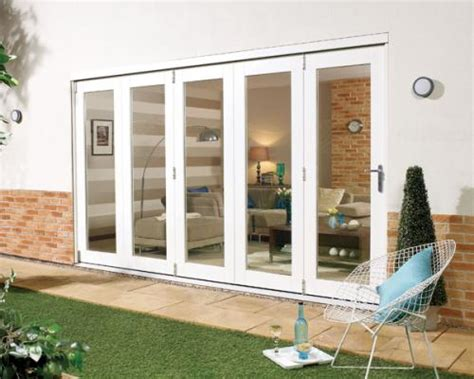 12 Foot Patio Doors 3600mm 12ft 5 Door Lpd Nuvu White Folding Doors