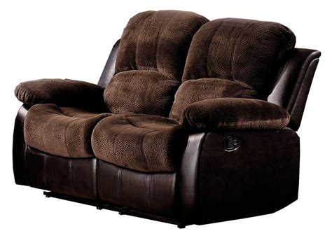 Reclining Sofa Loveseat And Chair Sets Two Seat Reclining Leather Sofa Recliner Set