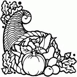 horn plenty free printable coloring pages