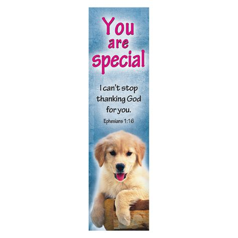 printable puppy bookmarks quot you are special quot bookmarks