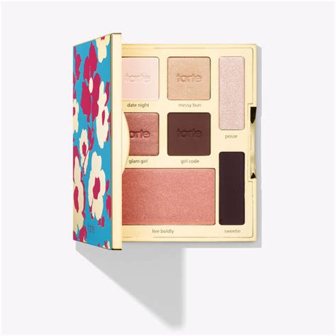 Promo Tarte Limited Edition Sw Eye Cheek Palette limited edition happy shine brighter eye cheek palette tarte cosmetics