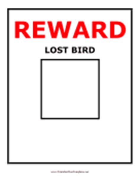 Lost And Found Flyers Lost Reward Poster Template