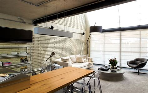 loft industrial industrial chic loft features the ideal match between comfort and functionality
