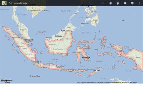 Perangko Republik Indonesia 9 peta negara republik indonesia