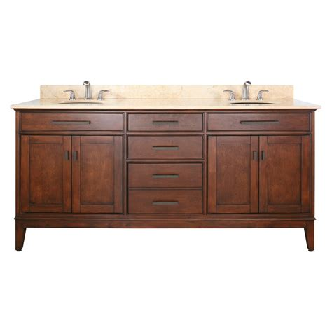 72 Bathroom Vanities 72 Quot Bathroom Vanity Tobacco Bathroom Vanities Bath Kitchen And Beyond