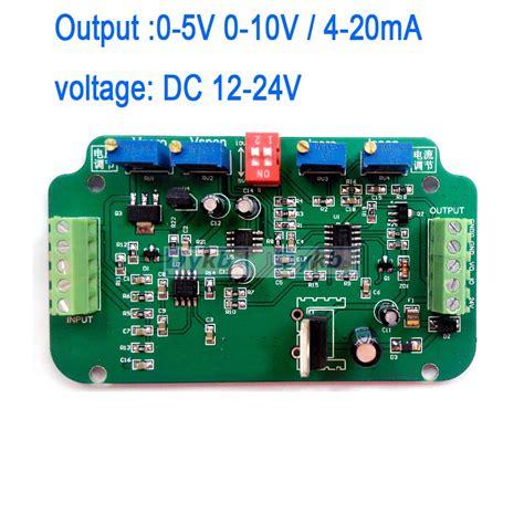 Kr09045 0 5v 0 10v Dc To 0 100 Pwm Signal Generator Module 0 5v 0 10v 4 20ma load cell sensor lifier weighing