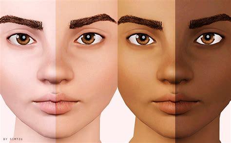sims 3 default replacement skin my sims 3 blog updated gumdrop skin blend by simtzu