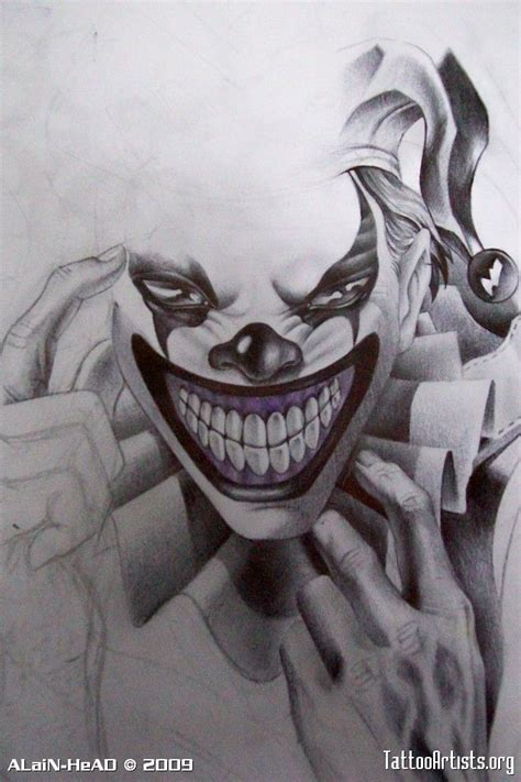 clown tattoo face 25 best jester trending ideas on joker