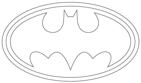printable batman logo for cake printable superman logo template party party pinterest