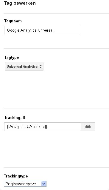Analytics Lookup Macro Lookup Table Gebruiken In Tag Manager