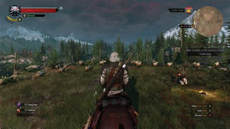 The Witcher 3 Gameplay Fotos Y Tiempo De Carga Para Ps4