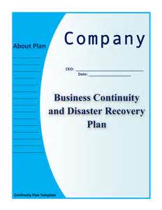 manufacturing disaster recovery plan template sle business continuity plan small business sle