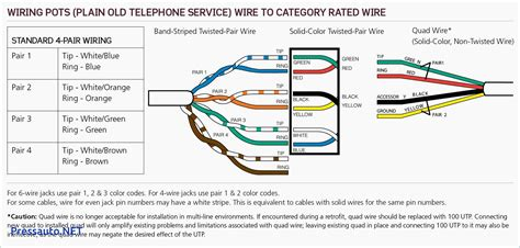 phone wiring diagram phone wiring color code