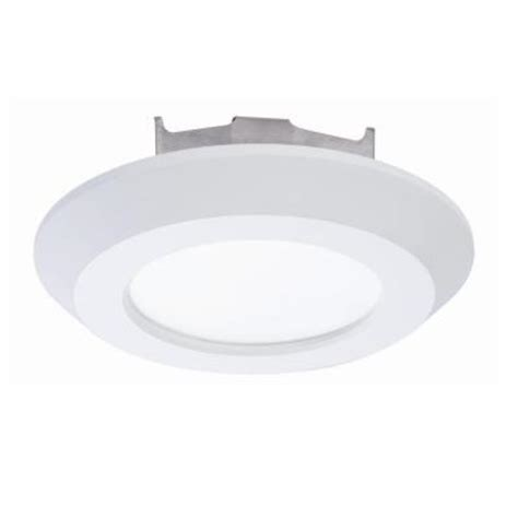halo led disc light halo 4 in matte white recessed led 3000k surface disk