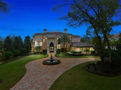 homes mansions mansion for sale in orlando fl for 4500000 nba superstar dwight howard lists mansion for sale