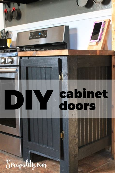 Diy Build Kitchen Cabinets by Diy Cabinet Door