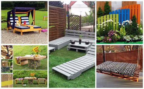22 Spectacular DIY Outdoor Pallet Projects That Everyone