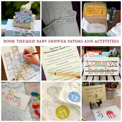 Book Baby Shower Favors by The Ultimate List Of Book Themed Baby Shower Ideas