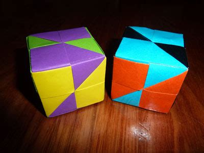 Easy Cool Origami - modular origami folding how to make modular