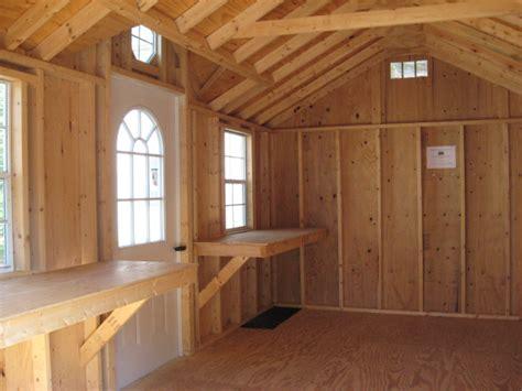 garden shed interiors captains bed plans rewards  utilizing plans  build  bed shed