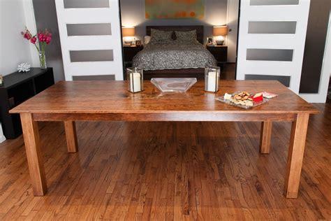 handmade murphy dining table by cheadle rubin design