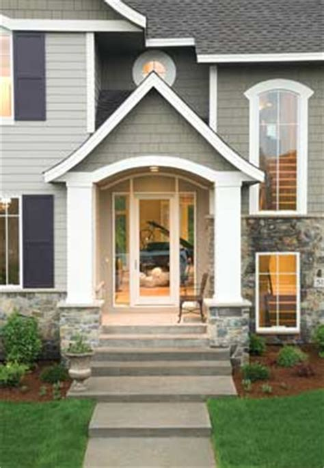glass front house plans home entry ideas house plans and more