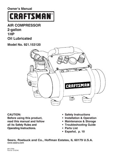 sears craftsman owners manuals need an owners manual