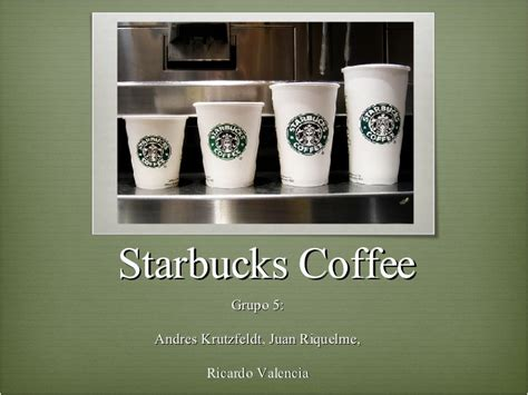 Mba In A Starbucks by Starbucks Analysis