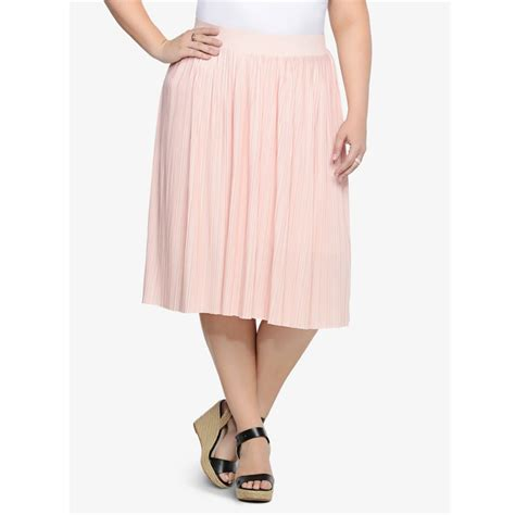 l 10xl large size midi pleated skirt big