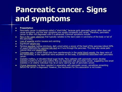 cancer signs of dying pancreatic cancer signs images