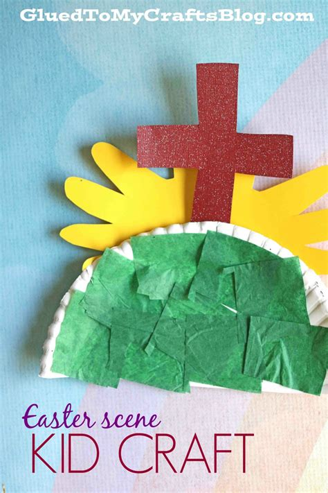 easter bible crafts for paper plate easter kid craft glued to my crafts