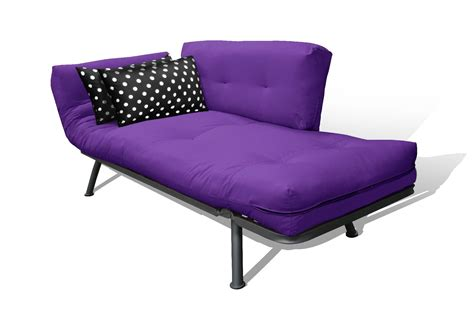futon purple american furniture alliance purple black polka dot mali