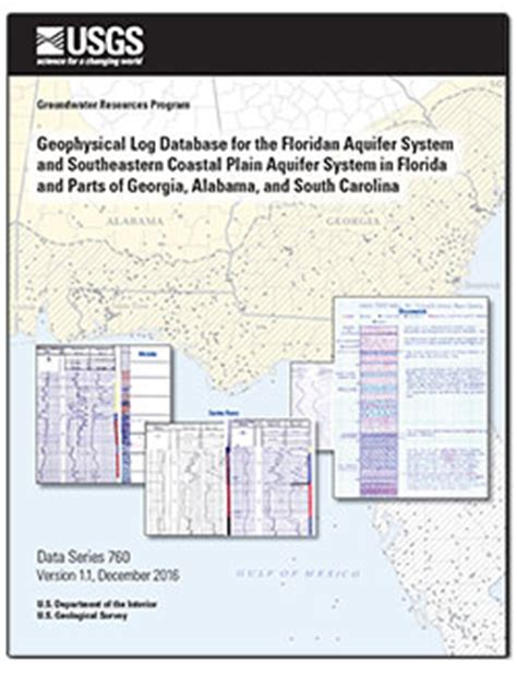 Flaparts Tasteless Titles by Usgs Data Series Geophysical Log Database For The