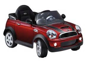 Childrens Electric Mini Cooper Genuine Mini Cooper S Convertible Ride On 6v Electric