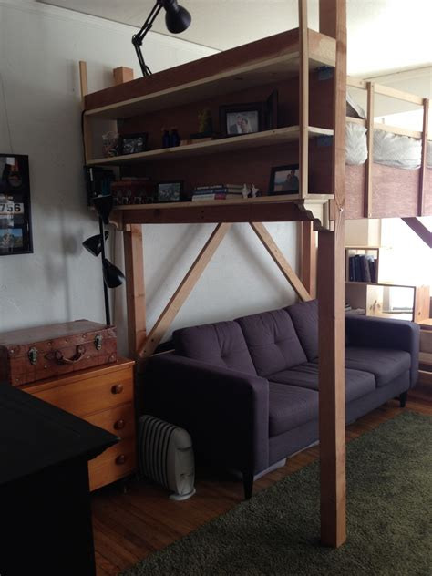 loft bed for studio apartment life in a studio apartment with my wife and two sons