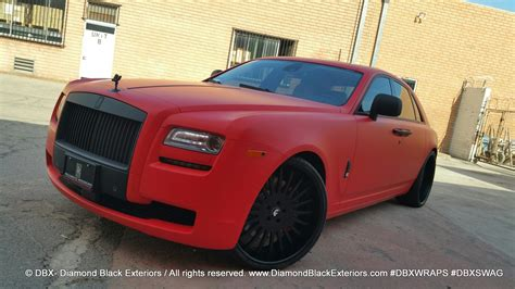matte rolls royce project rolls royce ghost wrapped in matte by dbx