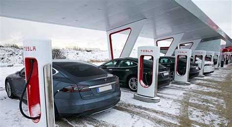 tesla charging stations canada tesla plans electric semi truck electric cars spreading