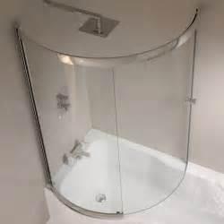Curved Shower Screen For P Shaped Bath bathroom cool small bathroom with l shaped bath ideas