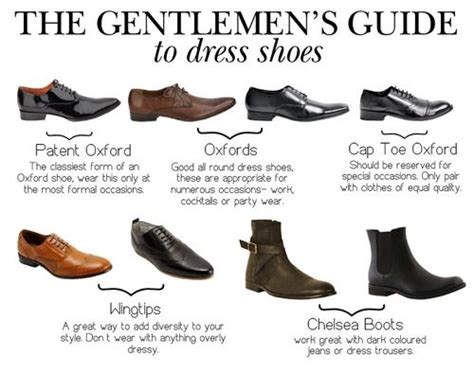 fashion shoes style accessories tutorial infographic